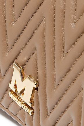 M MISSONI Quilted faux leather shoulder bag