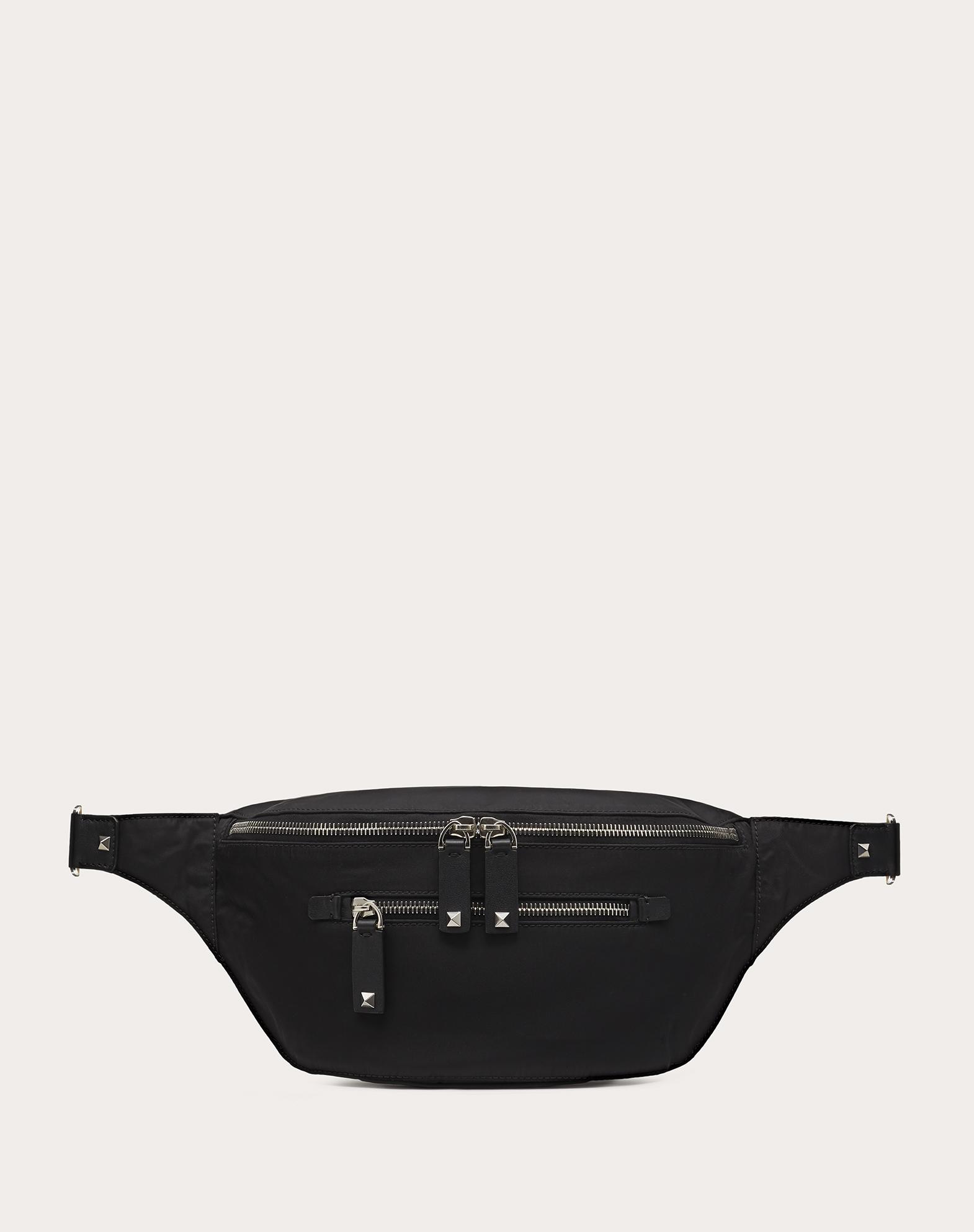 Nylon Belt Bag with VLTN Straps