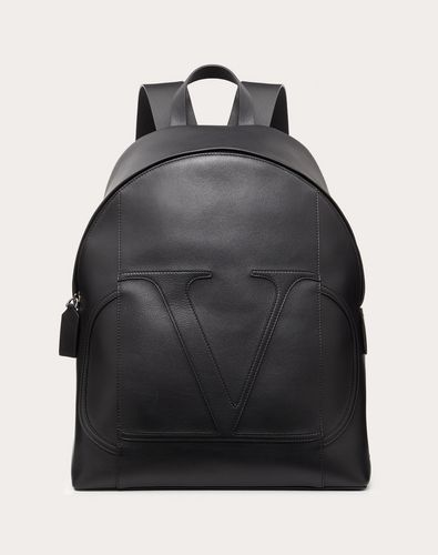 VLOGO CALFSKIN BACKPACK