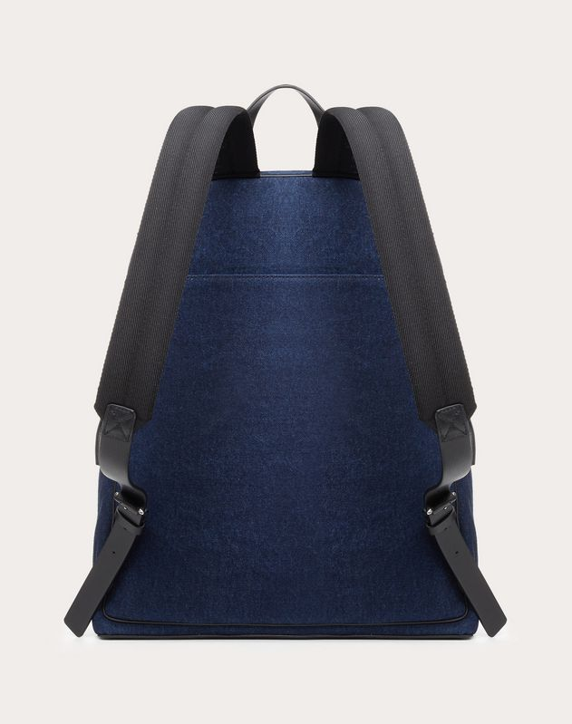 DENIM VLOGO BACKPACK