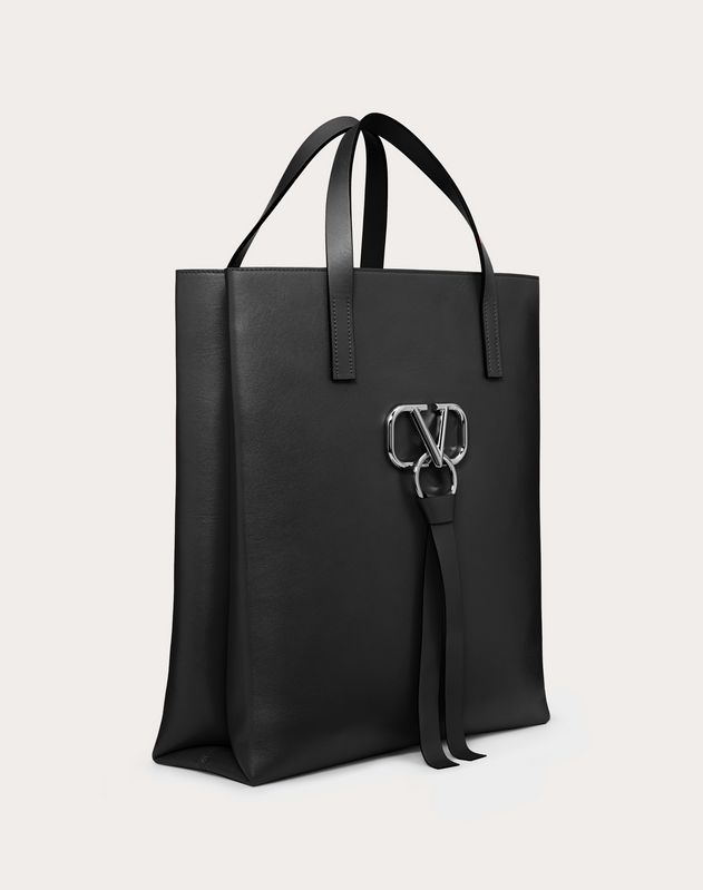 VRING SMOOTH CALFSKIN SHOPPER
