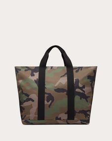 NYLON VRING CAMOUFLAGE TOTE