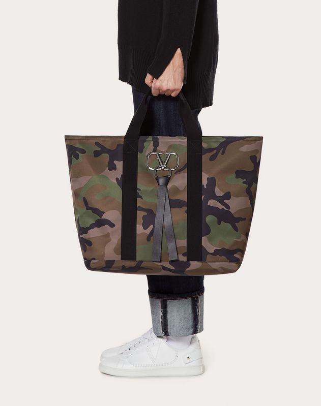 VRING CAMOUFLAGE 大号尼龙购物袋