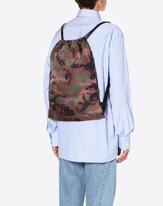 VLTN Grid Camouflage Backpack