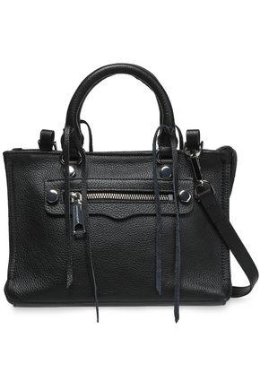REBECCA MINKOFF Textured-leather tote