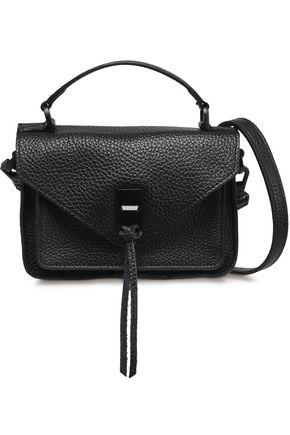 REBECCA MINKOFF Darren textured-leather shoulder bag