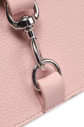 REBECCA MINKOFF MAB textured-leather shoulder bag