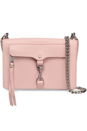 REBECCA MINKOFF MAB textured-leather shoulder bag