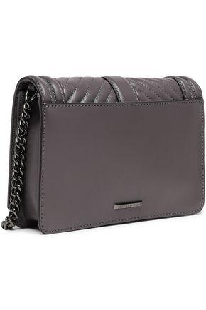 REBECCA MINKOFF Quilted leather shoulder bag