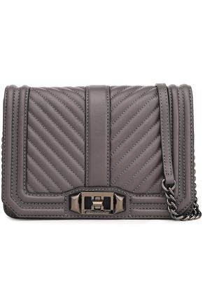 REBECCA MINKOFF Quilted leather shoulder bag
