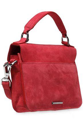 REBECCA MINKOFF Tasseled suede shoulder bag