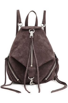 REBECCA MINKOFF Textured-leather backpack