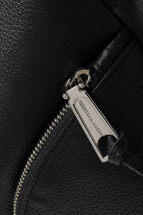 REBECCA MINKOFF Pebbled-leather backpack