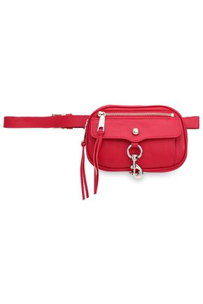 REBECCA MINKOFF Textured-leather belt bag