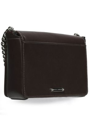 REBECCA MINKOFF M.A.B. mini pebbled-leather shoulder bag