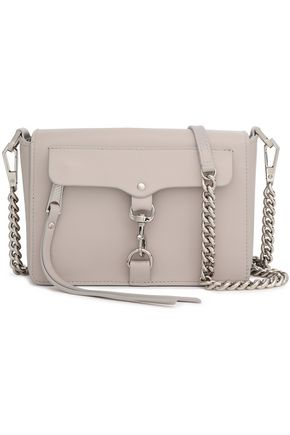REBECCA MINKOFF Textured-leather shoulder bag