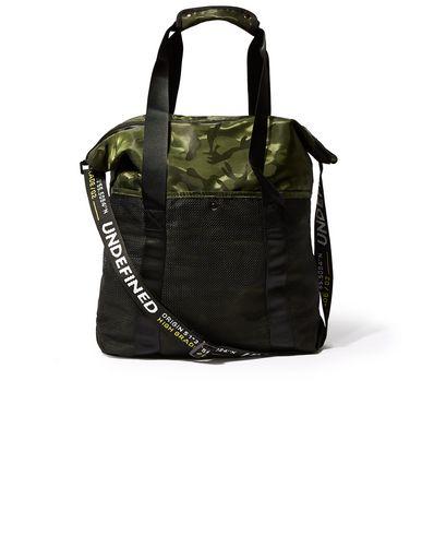 Фото - Сумку через плечо цвет зеленый-милитари