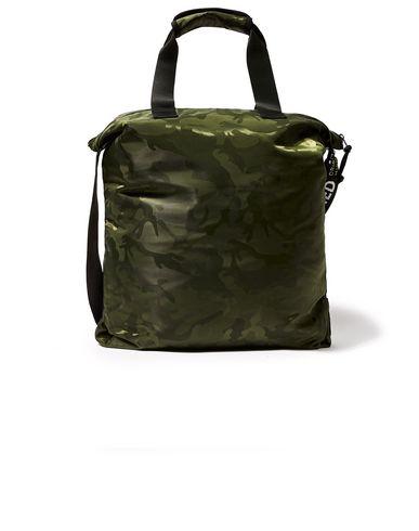 Фото 2 - Сумку через плечо цвет зеленый-милитари