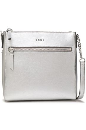 DKNY Metallica leather shoulder bag