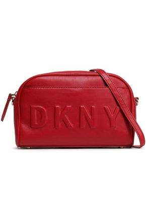 DKNY Embossed faux leather shoulder bag