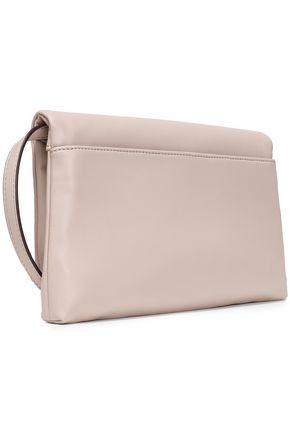 DKNY Embossed faux leather shoulder bag