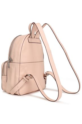 DKNY Textured-leather backpack