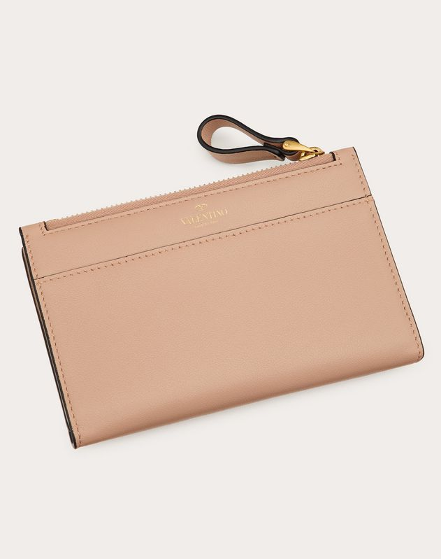 VLOGO Calfskin Coin Purse and Cardholder