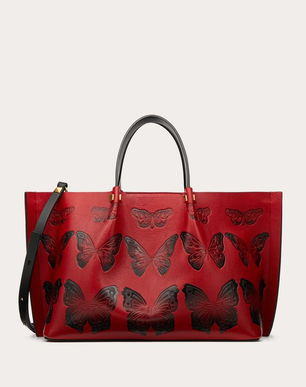 Medium Go Logo Escape Shopper with Butterfly Details