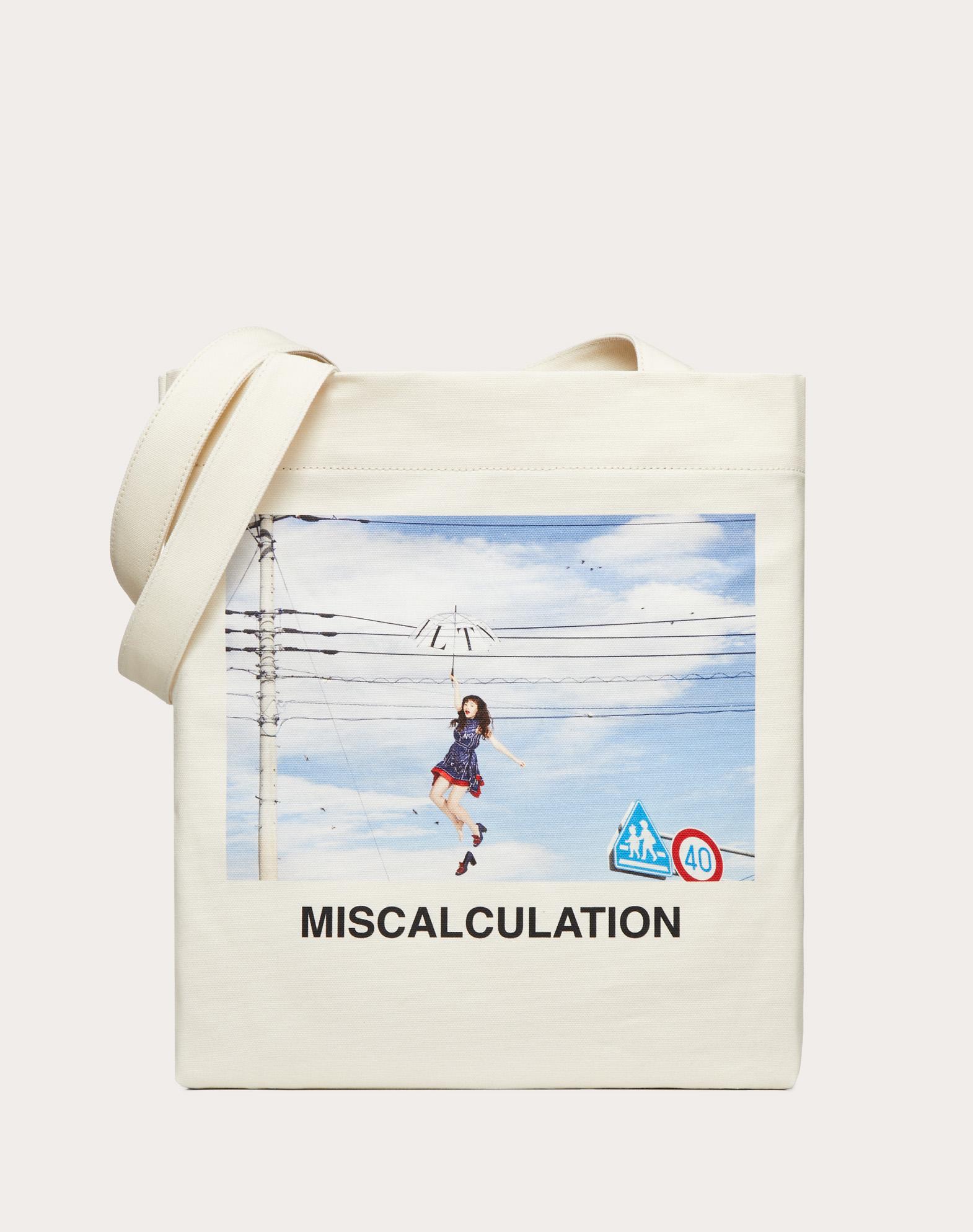 Cabas avec imprimé «Miscalculation» créé en collaboration avec Izumi Miyazaki