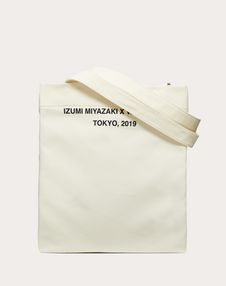 "Shopper with ""Idea"" print in collaboration with Izumi Miyazaki"