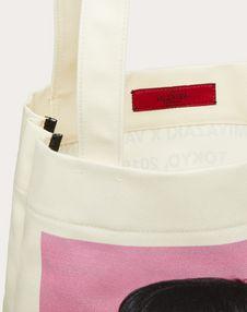 "Shopper with ""Idea"" print in collaboration with Izumi Miyazaki"