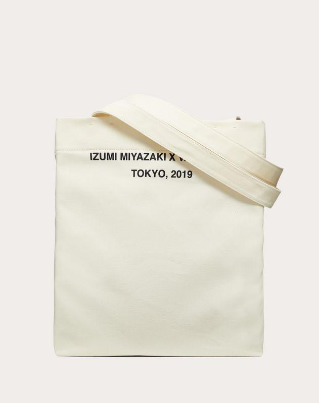 Cabas avec imprimé «Idea» créé en collaboration avec Izumi Miyazaki