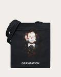 "Shopper with ""Gravitation"" print in collaboration with Izumi Miyazaki"