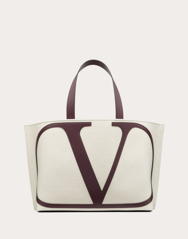VLOGO Canvas Beach Bag