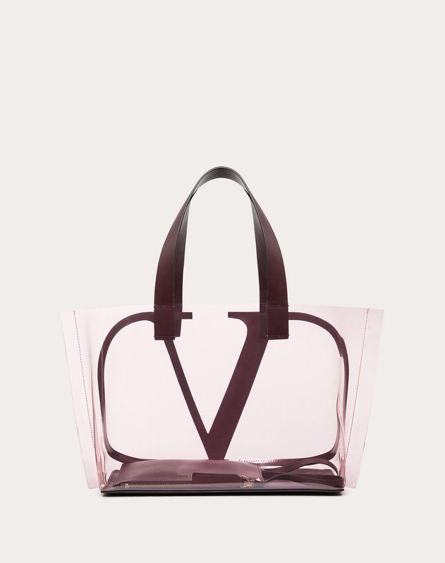 Small VLOGO Colored Polymer Beach Bag