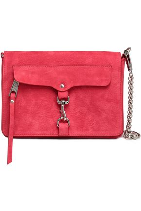 REBECCA MINKOFF M.A.B. suede shoulder bag
