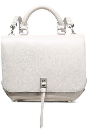 REBECCA MINKOFF Studded pebble-leather backpack