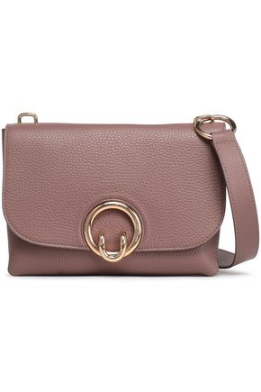 REBECCA MINKOFF Isabel textured-leather shoulder bag