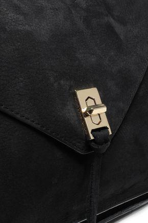 REBECCA MINKOFF Darren pebbled-suede shoulder bag