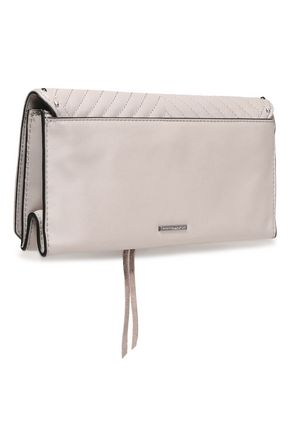 REBECCA MINKOFF Becky studded quilted leather clutch