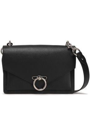 REBECCA MINKOFF Jean pebbled-leather shoulder bag