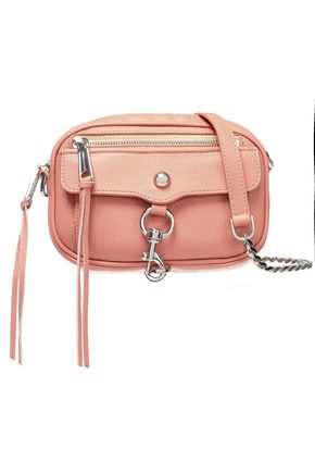REBECCA MINKOFF Blythe pebbled-leather shoulder bag