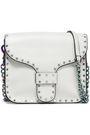 REBECCA MINKOFF Midnight studded leather shoulder bag