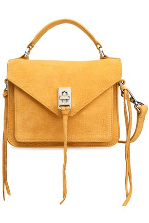REBECCA MINKOFF Textured-suede shoulder bag