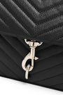REBECCA MINKOFF Quilted textured-leather shoulder bag