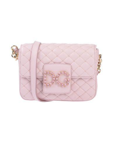 Купить Сумку через плечо светло-розового цвета