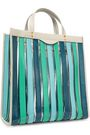 ANYA HINDMARCH Multi Stripes leather and PVC tote