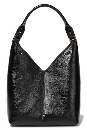 ANYA HINDMARCH Cutout textured-leather shoulder bag