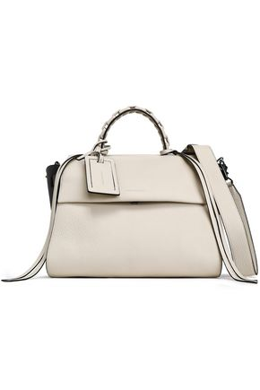 ELENA GHISELLINI Angel textured-leather tote