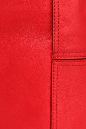 ELENA GHISELLINI Knotted textured-leather bucket bag